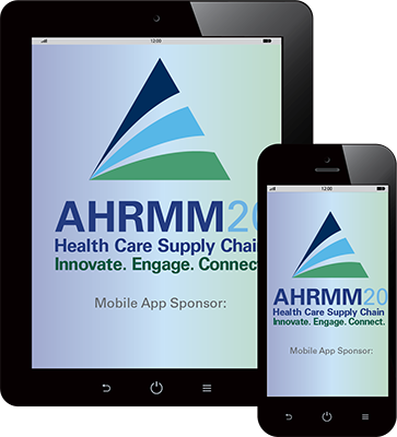 AHRMM20 mobile app splashscreen
