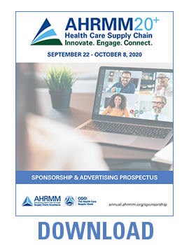AHRMM20+ Sponsorship Prospectus Download